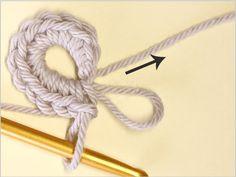 フラワーモチーフの編み方|かぎ針編み立体モチーフ 写真解説付き 【初級編】 | クロッシェアクセサリー La Seule Crochet Necklace, Knitting, Handmade, Accessories, Tejidos, Hand Made, Tricot, Breien, Stricken