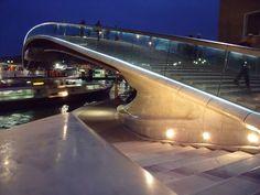 Grand Canal Bridge, Venice, Santiago Calatrava