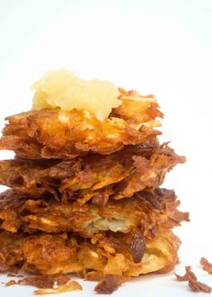 Latkes. Potato Panca
