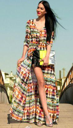 Zara Boho Tie-Dye cover up  $29.99