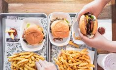 Shake Shack-inspired Jack's Burgers in Newtown enters the fray. More burgers? The burgers are better at Jack's. Burger Restaurant, Sydney Food, Shake Shack, Family Activities, Places To Eat, Playground, Chips, Yummy Food, Concrete