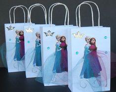 10 Pieces Frozen Fever Elsa Anna Paper Tutu Birthday Favor by rizastouchofflair | Etsy