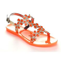 26c20936ae6 EASOS GEAL AE322 Women s Slingback Flat Jelly Sandals    Find out more  about the great