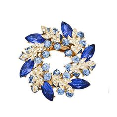 1 Pcs Bling Bling Crystal Rhinestone Golden Chinese Redbud Flower Brooch Pins Jewelry Women Brooches for Scarf