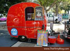 The Flirty Blog: Tin Can Tourists West Coast Vintage Trailer Rally 2012