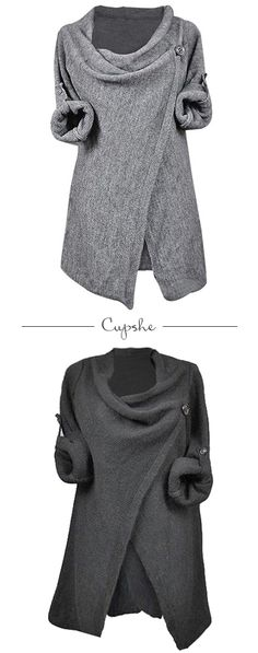 Discover season top which is comfortable, versatile and affordable~ A staple for any wardrobe. Chic asymmetric design and knitting top~ You'll love this causual style. Free shipping & Shop now~