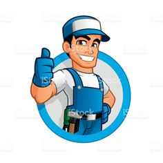 Woodworking School Handyman royalty-free stock vector art - handyman wearing work clothes and a belt, with tool Grizzly Woodworking, Woodworking Tools For Sale, Essential Woodworking Tools, Japanese Woodworking, Woodworking School, Learn Woodworking, Woodworking Videos, Woodworking Crafts, Woodworking Blueprints