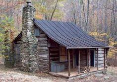 Corbin Cabin in Shenandoah - maintained by Potomac Appalachian Trial Club. Primitive.