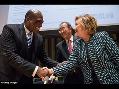 """UN Diplomat John Ashe Killed In """"Freak Accident"""" Was Set To Testify Against Clinton Foundation Donor - YouTube"""