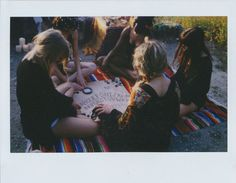 The Lunar Kingdom Lookbook Has a Raw and Unfinished Feel #polaroid #photography trendhunter.com