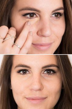 20 tricks for applying concealer.