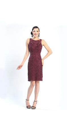 Shop for and buy this beautiful vintage style Sue Wong Plum Short Dress. Click or call (323) 592-9172.