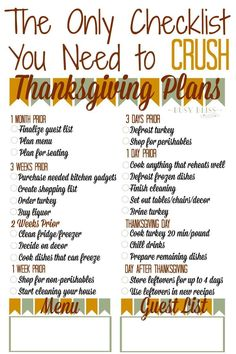 The Thanksgiving countdown is on! Grab your Thanksgiving planner checklist and p… The Thanksgiving countdown is on! Grab your Thanksgiving planner checklist and plan ahead with tips and a timeline to crush your Thanksgiving planning. Thanksgiving Countdown, Thanksgiving Dinner Menu, Hosting Thanksgiving, First Thanksgiving, Thanksgiving Celebration, Thanksgiving Traditions, Thanksgiving Parties, Holiday Dinner, Thanksgiving Menu Planner