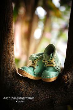 3.8cm蒂芬妮藍大頭靴