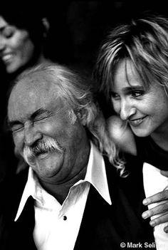 Melissa Etheridge and David Crosby