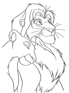 Simba and Nala by vildtiger.deviantart.com on @deviantART