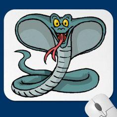 King Cobra Mouse Pad by fstasu58