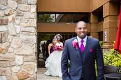 Luxury {Nigerian} Wedding in {Philadelphia} with a Hot Pink Color Scheme: Lyndah + Chris
