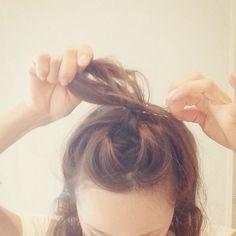 ☆大人の簡単ゆるおだんご、作り方!☆ | 田中亜希子オフィシャルブログ Powered by Ameba Diy Hairstyles, Hair Beauty, Hair Styles, Women's Fashion, Iphone, Hair, Hair Plait Styles, Fashion Women
