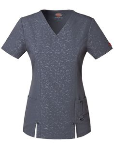 Share Tafford with your friends and receive a promo code for $5 OFF your order! (on qualifying brands) Dickies Xtreme Stretch Camo V-Neck Scrub Top #scrubs