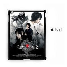 manga adaptations death note for custom case iPad 2/iPad 3/iPad 4