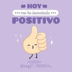 Hoy tenemos energía por un tubo #mrwonderfulshop #quotes #positive