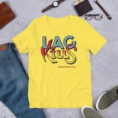 This Gotta Have It All lag kills gaming short sleeve t-shirt is everything you've dreamed of and more. It feels soft and lightweight. Men's Shirts And Tops, Tee Shirts, T Shirts For Women, How To Roll Sleeves, Sport T Shirt, Online Shopping Clothes, Funny Shirts, Long Sleeve Shirts, Feels