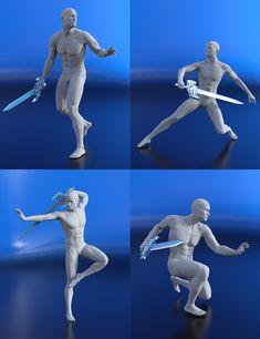 Gianni 7 - Next Phantasia Poses Action Pose Reference, Human Poses Reference, Pose Reference Photo, Action Poses, Figure Drawing Models, Figure Sketching, Figure Drawing Reference, Sketch Poses, Drawing Poses