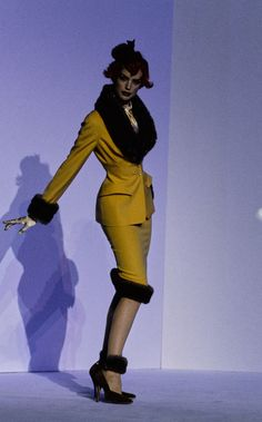 Mugler Fall 1995 Couture Collection Photos - Vogue#25