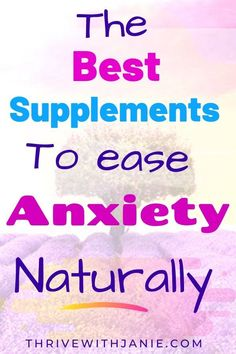 Ease and calm anxiety naturally with supplements that improves your mental health. If you have anxiety, approach it and beat it from all sides: Eat na Improve Mental Health, Good Mental Health, Daily Health Tips, Health And Fitness Tips, Health Advice, Natural Supplements For Anxiety, Best Supplements, Natural Cough Remedies, Cold Home Remedies