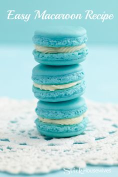 Easy Macaron Cookie Recipe