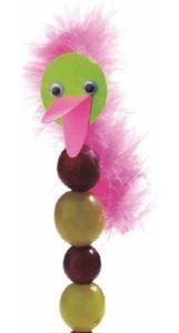 Druiven struisvogel