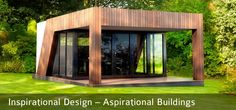 Plans To Design And Build A Container Home - 6 Reasons To Consider Prefab Shipping Container Homes For Sale Today ~ Container homes plans - Who Else Wants Simple Step-By-Step Plans To Design And Build A Container Home From Scratch? Container Home Designs, Container Homes For Sale, Building A Container Home, Container House Plans, Prefab Shipping Container Homes, Prefab Homes, Garden Pods, Garden Office, Garden Buildings