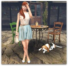 "Check out the Second Life Pic of the Day, ""52 Weeks - Aqua Island"", photo by Amy_Beebe of Pixel Vanity."