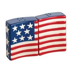 by 4th of July Entertaining  S/2 Patriotic Salt & Pepper Shaker