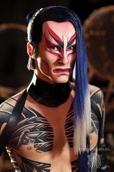 Cirque du Soleil: Ka makeup