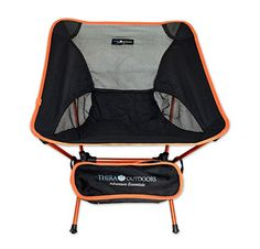 UltraLight Weight Folding Chair a Seat Anywhere Outdoors or Indoors  Compact Foldable and only 19 Pounds Easily Portable with Storage Bag An Adventure Essential for Camping by Thira Outdoors -- Visit the image link more details.(This is an Amazon affiliate link and I receive a commission for the sales)