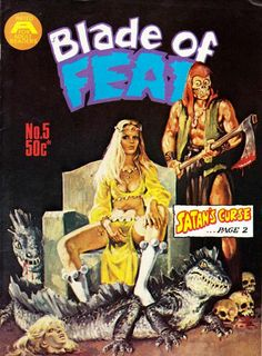 Cover for Blade of Fear (1976 series) #5