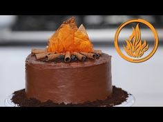 DIVERGENT DAUNTLESS CAKE - NERDY NUMMIES - YouTube