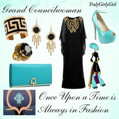 """""""Disney Style: Grand Councilwoman"""" by trulygirlygirl ❤ liked on Polyvore"""