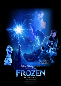 Frozen Custom-made Trailer Poster by ~HKY91 ..this is seriously good!