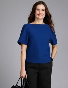 Livia Firth recycled polyester top from M+S