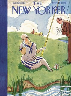 The New Yorker - Saturday, June 30, 1928 - Issue # 176 - Vol. 4 - N° 19 - Cover by : Helen E. Hokinson