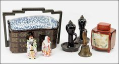A COLLECTION OF DECORATIVE ITEMS. Lot 150-3017