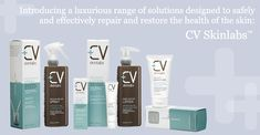 CV Skinlabs. Every CV Skinlabs product contains the exclusive Tri-Rescue Skin Complex—a unique blend of turmeric, alpha-bisabolol and reishi mushroom that offers a powerful combination of anti-inflammatory, wound-healing and skin-soothing constituents. Working together, these ingredients encourage repair, healing, and restoration