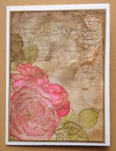Workshop Roses from Impression Obsessions. Made by Renee van Evert