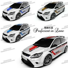 UNIVERSAL CUSTOMIZED 4 Designs Car Whole Body Sticker Styling Decal Decor Vinyl Covers Stickers Waterproof Sports Racing Carbon