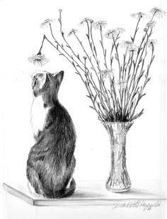 Conversation With a Daisy . . .  Pencil   Bernadette E. Kazmarski