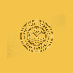 Creative Logo, Design, Inspiration, Graphic, and Branding image ideas & inspiration on Designspiration Web Design, Icon Design, Logo Branding, Branding Design, Brand Identity, Surf Logo, Logo Simple, Typographie Logo, Circular Logo