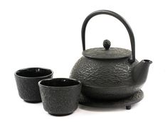 Mountain Rose Herbs: Cast Iron Teapot Set